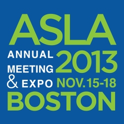 ASLA 2013 Annual Meeting & EXPO