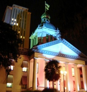 The Florida Capitol Complex. Photo courtesy urbantallahassee via Wikimedia Commons