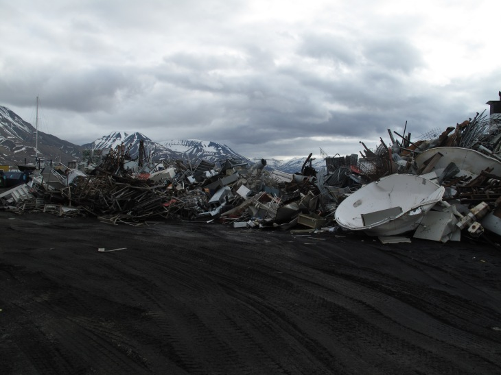 Arctic landscape, Longyearbyen. Photo: Mia Feuer, courtesy of the Corcoran Gallery of Art