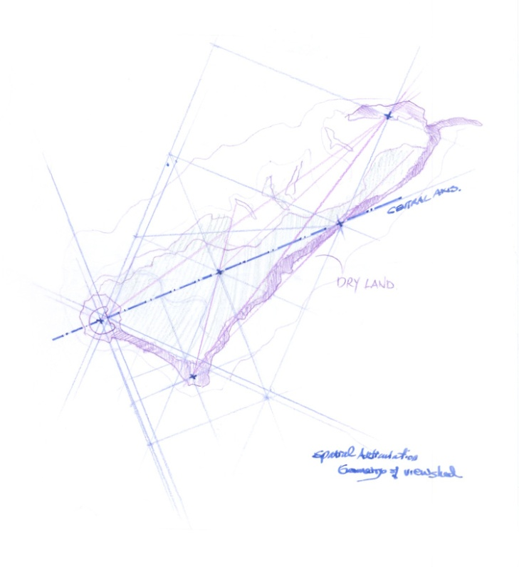 Spatial Articulations sketch. Courtesy Zheming Cai.