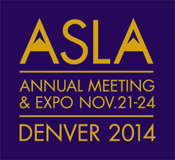 ASLA 2014 Annual Meeting & EXPO