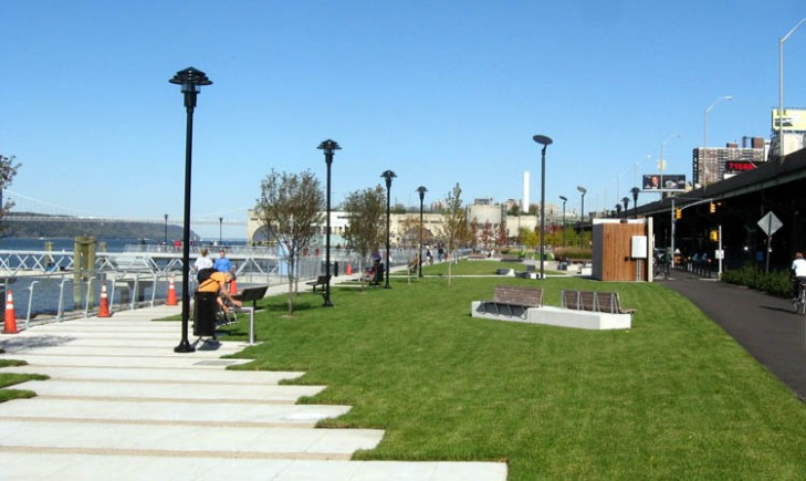 West Harlem Piers Park, an early Mitchell Silvers success.