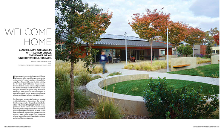 From The February 2016 Issue Of Landscape Architecture Magazine.