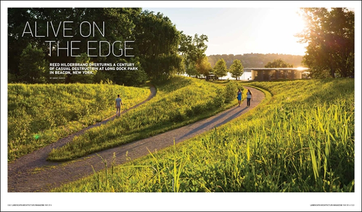long dock park landscape architecture magazine