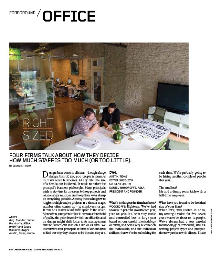 dwg landscape architecture magazine