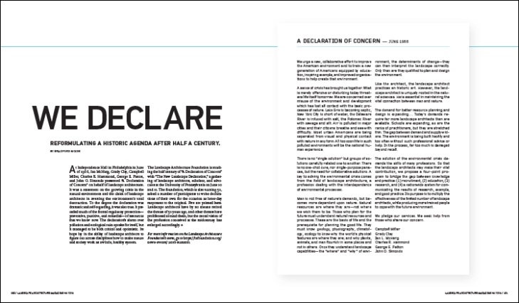 FEATURE: We Declare