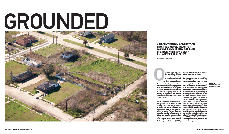 From The October 2016 Issue Of Landscape Architecture Magazine