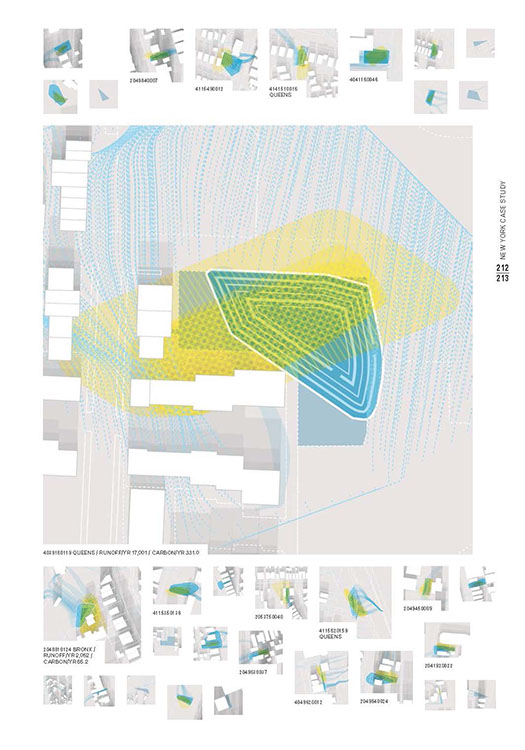 Local Code applies custom GIS design software to nearly 4,000 vacant or underutilized sites in San Francisco, Los Angeles, New York, and Venice, Italy. Local Code by Nicholas de Monchaux, published by Princeton Architectural Press 2016.
