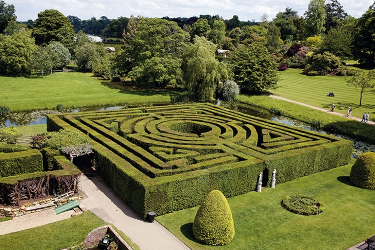 Hever Castle Maze, Kent, UK, 1904. Courtesy Hever Castle & Gardens