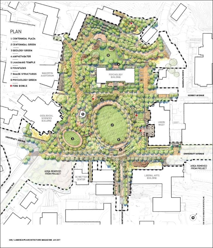 Campus Map Utep.Desert Bloom Landscape Architecture Magazine