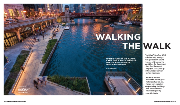 walking the walk landscape architecture magazine
