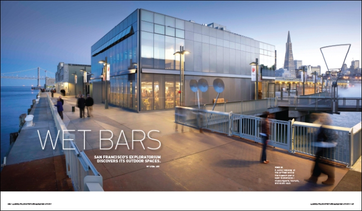 Wet bars landscape architecture magazine for Area landscape architects