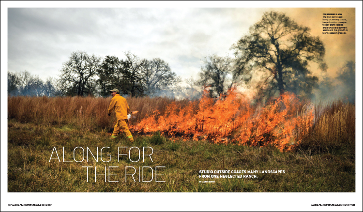 FROM THE MAY 2017 ISSUE OF LANDSCAPE ARCHITECTURE MAGAZINE.