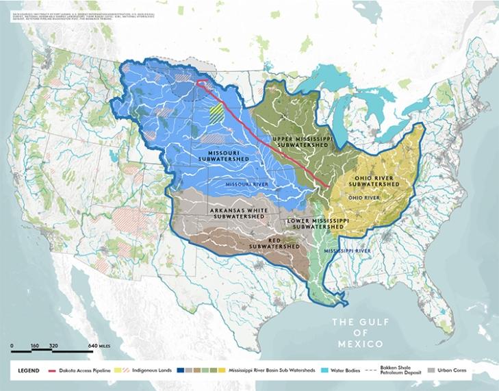 Missouri River Landscape Architecture Magazine - Missouri river map