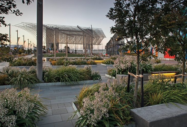 The wharf at work landscape architecture magazine for Breeze landscape architects