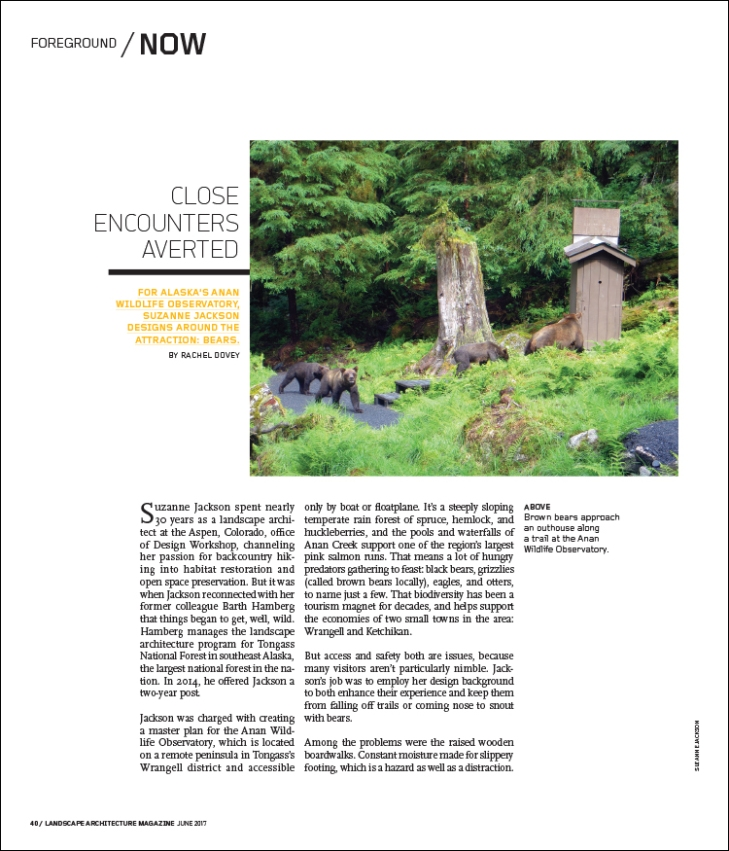 FROM THE JUNE 2017 ISSUE OF LANDSCAPE ARCHITECTURE MAGAZINE. Landscape Architecture Magazine   The Magazine of the American