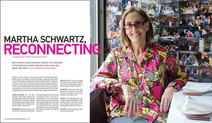 MARTHA SCHWARTZ, RECONNECTING