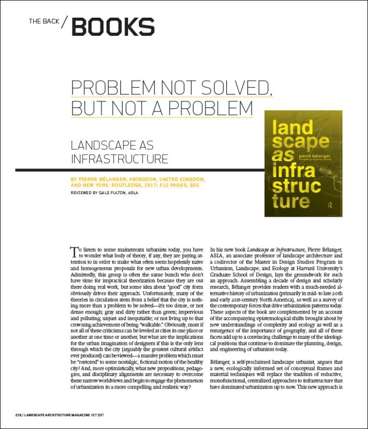 Landscape Architecture Magazine The Magazine Of The