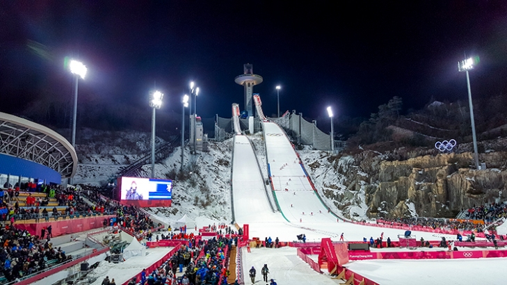 OLYMPIC VENUES PACK A PUNCH IN A POCKET