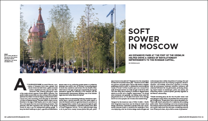 SOFT POWER IN MOSCOW