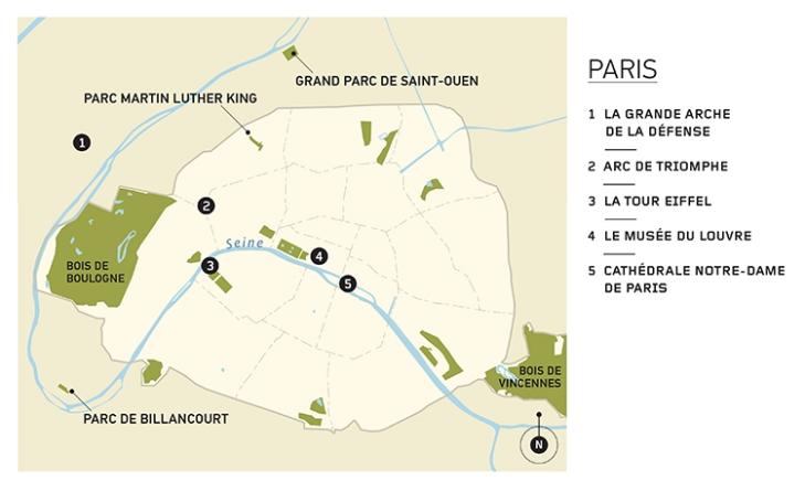 PARISIAN ACCENTS / LA TOUCHE PARISIENNE