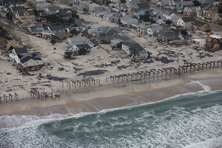 WHEN REAL ESTATE COLLAPSE WASHES ASHORE